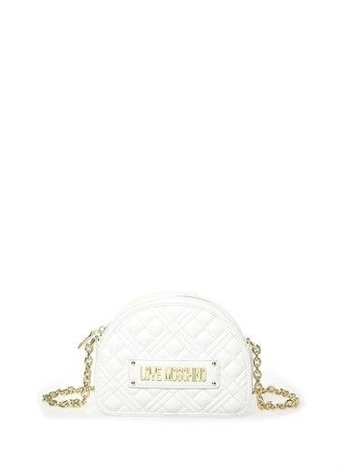Love Moschino Omuz Çantası Beyaz